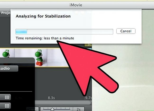 Prent getiteld Maak `n groen skerm op `n Mac met iMovie Stap 17