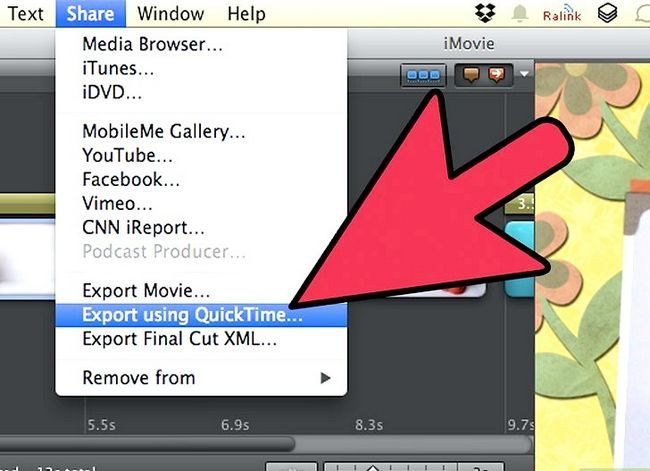 Prent getiteld Maak `n groen skerm op `n Mac met behulp van iMovie Stap 19