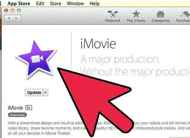 Prent getiteld Maak `n groen skerm op `n Mac deur iMovie Stap 2 te gebruik