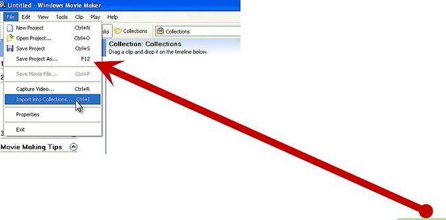 Beeld getiteld Maak `n Potter Puppet Pals Movie in Windows XP Stap 11