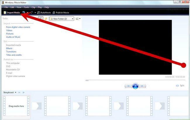 Beeld getiteld Maak `n Potter Puppet Pals Movie in Windows XP Stap 9