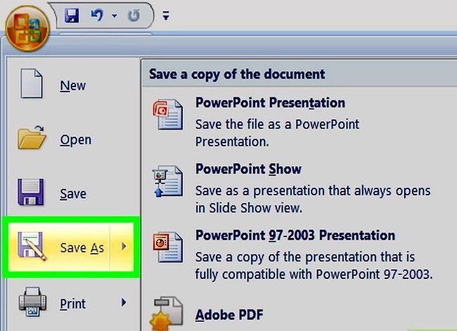 Prent getiteld Maak `n PowerPoint-sjabloon Stap 12