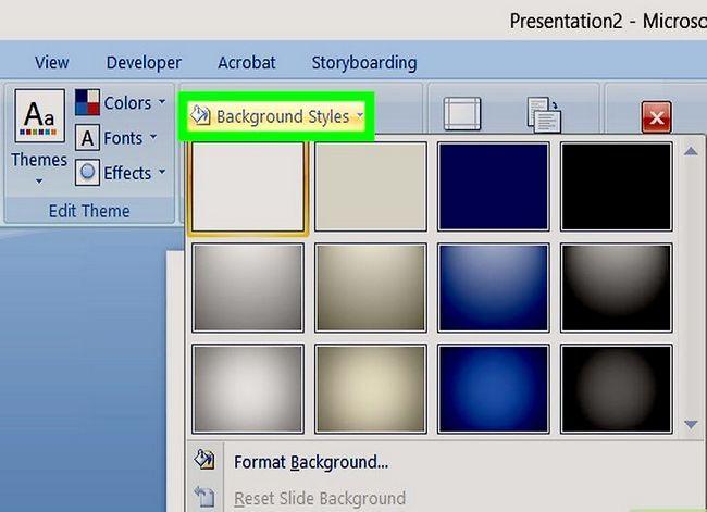 Prent getiteld Maak `n PowerPoint-sjabloon Stap 10