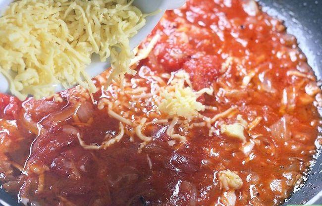 Prent getiteld Maak Tuisgemaakte Spaghetti Sous Stap 29
