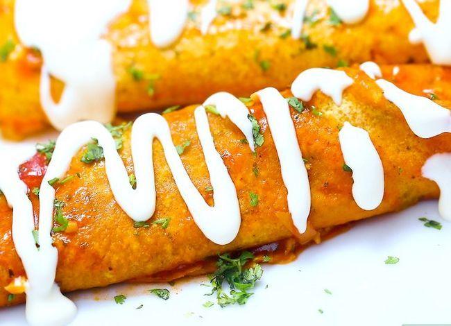 Prent getiteld Maak maklike Enchilada-sous Stap 10