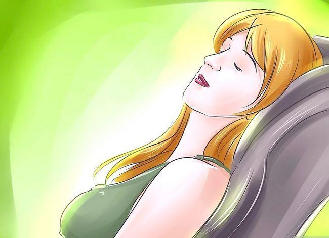Prent getiteld Doen selfhypnose Stap 1