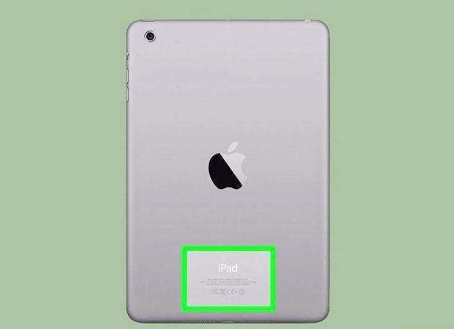 Prentjie titel Bepaal `n iPad-model _