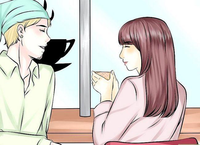 Prent getiteld Sê of jou vriend jou graag wil stap 3