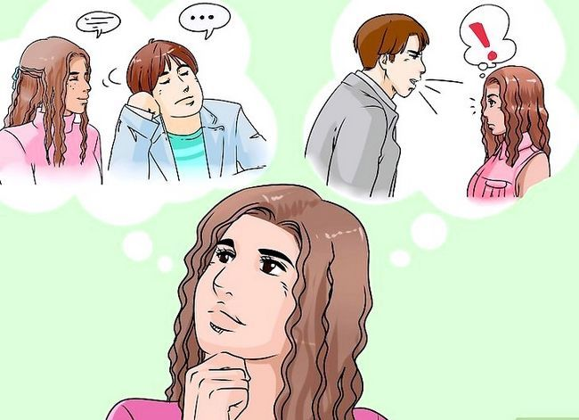 Prent getiteld Ignoreer jou vriendin Stap 1