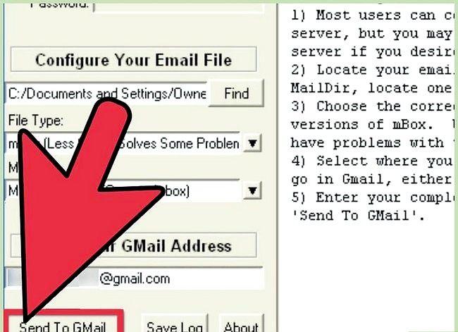 Prent getiteld Invoer Argief Outlook E-pos In Gmail Met GML Stap 11