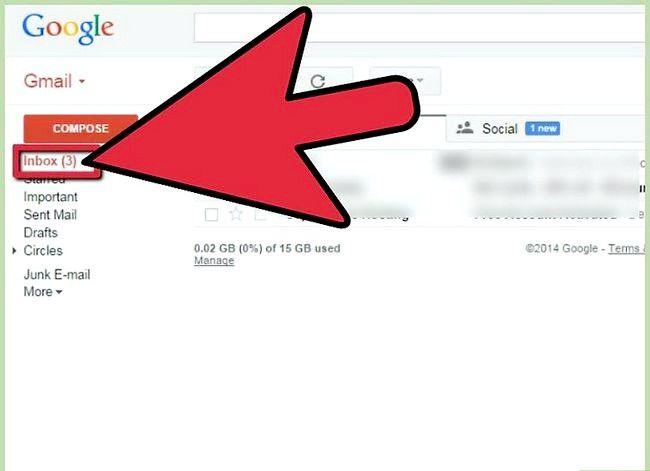 Prent getiteld Invoer Argief Outlook E-pos In Gmail Met GML Stap 12