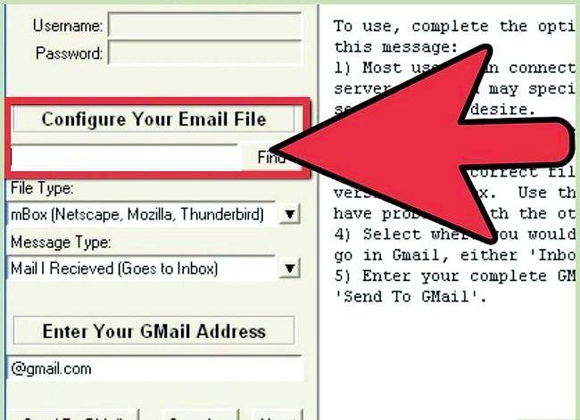 Prent getiteld Invoer Argief Outlook E-pos In Gmail Met GML Stap 4