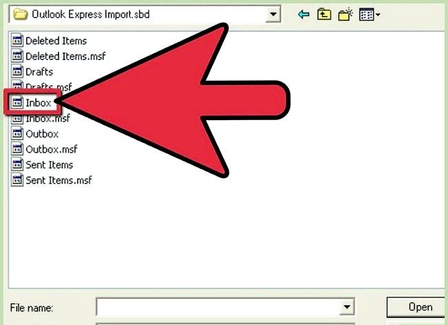 Prent getiteld Invoer Argief Outlook E-pos In Gmail Met GML Stap 5