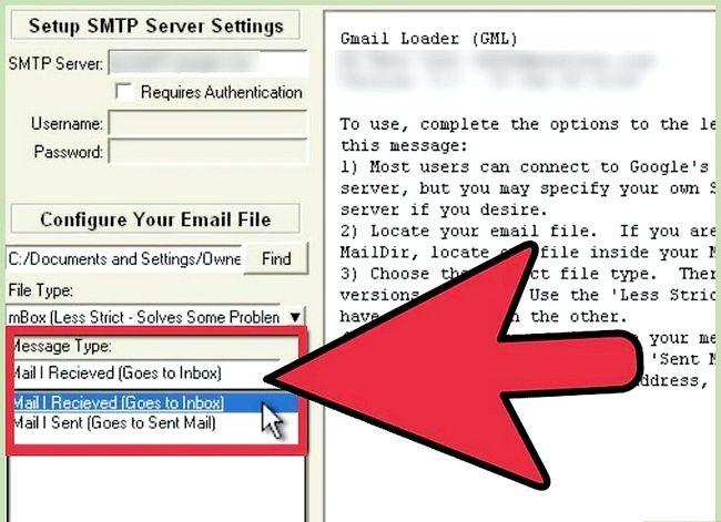 Prent getiteld Invoer Argief Outlook E-pos In Gmail GML Stap 8 gebruik