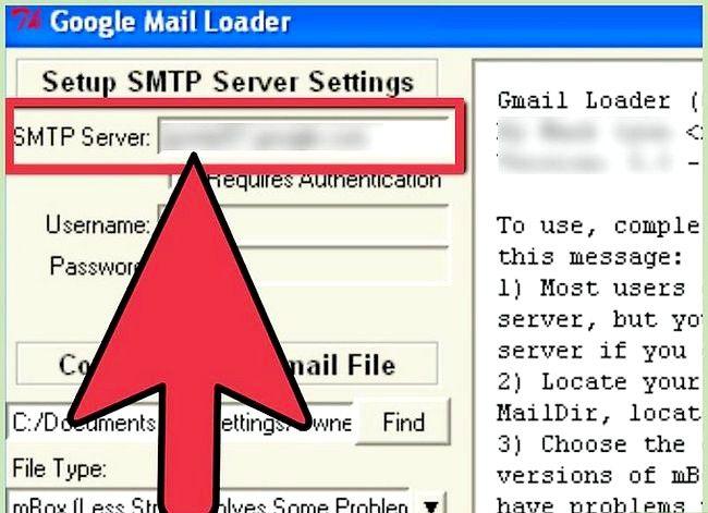 Prent getiteld Invoer Argief Outlook E-pos In Gmail Met GML Stap 10