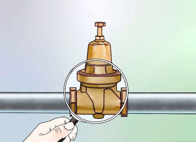 Prent getiteld Verhoog waterdruk Stap 10