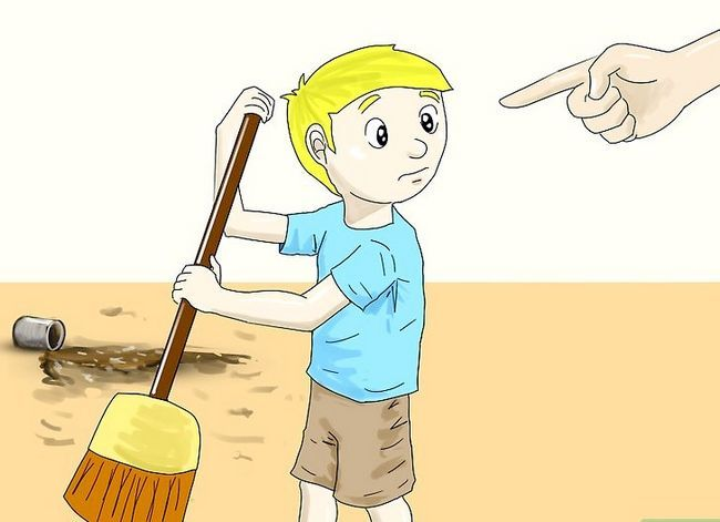 Prent getiteld Instel Dissipline in Kinders Stap 6