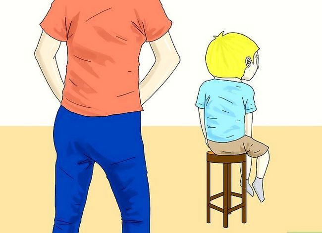 Prent getiteld Instel Dissipline in Kinders Stap 7