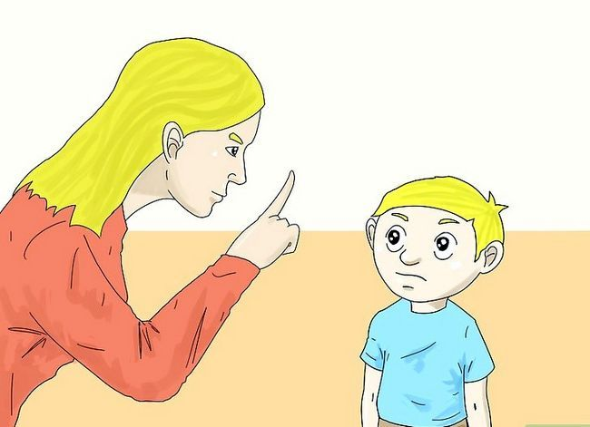 Prent getiteld Instel Dissipline in Kinders Stap 10