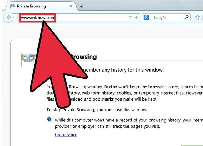 Prent getiteld Doen privaat blaai in Mozilla Firefox Stap 3