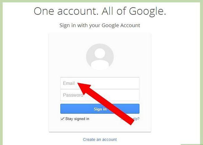 Prent getiteld Teken in na Gmail Stap 3