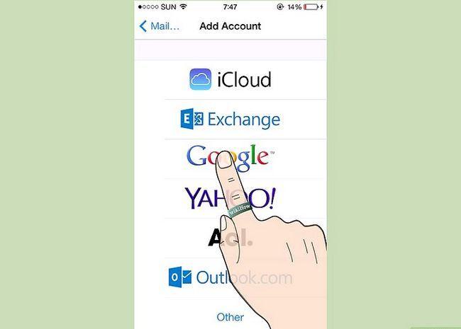 Prent getiteld Teken in na Gmail Stap 7