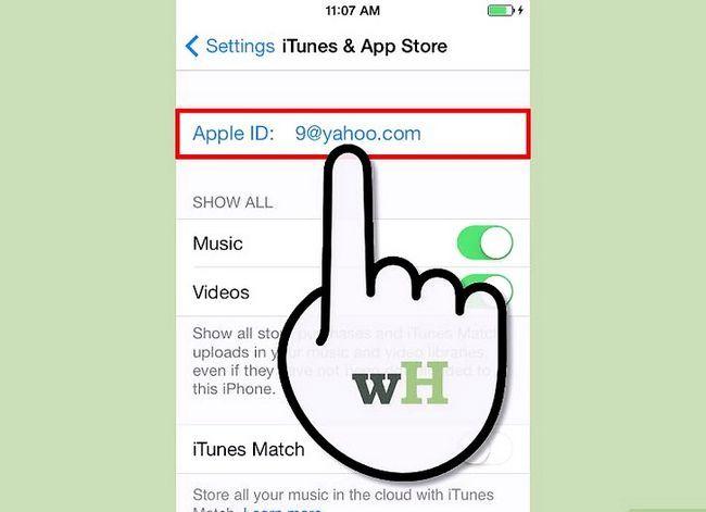 Beeld getiteld Teken in op iTunes Stap 12