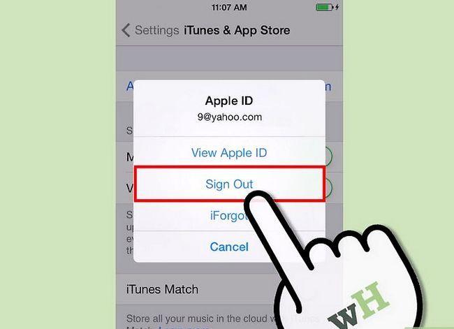Beeld getiteld Teken in op iTunes Stap 13