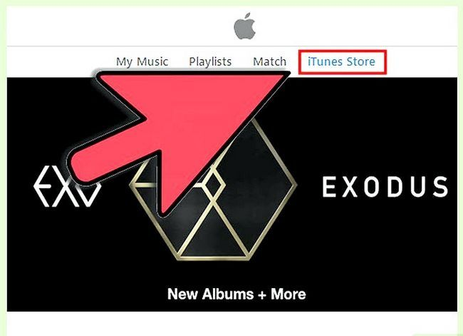 Beeld getiteld Teken in op iTunes Stap 6