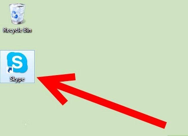 Prent getiteld Teken in Skype Stap 1