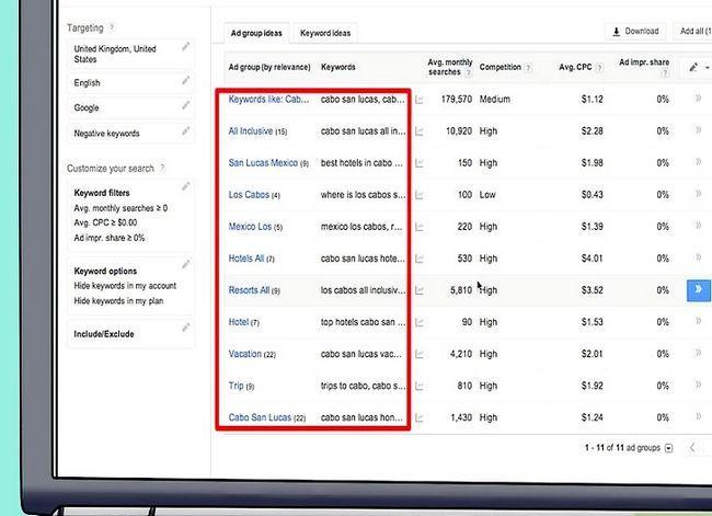 Prent getiteld Begin `n suksesvolle Pay Per Click-veldtog Stap 6