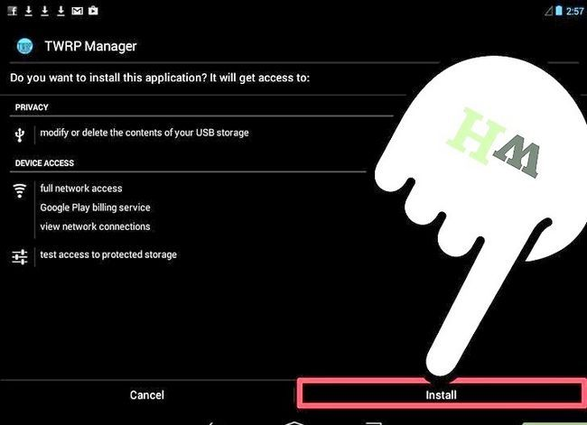 Prent getiteld Installeer Android op Kindle Fire Step 8