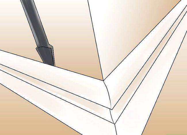 Prent getiteld Installeer leisteenplank Stap 1