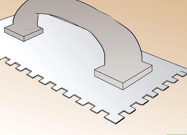 Prent getiteld Installeer leisteenplank Stap 11