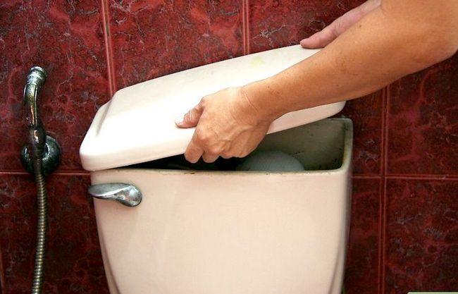 Prent getiteld Installeer `n Toilet Hanteer Stap 1