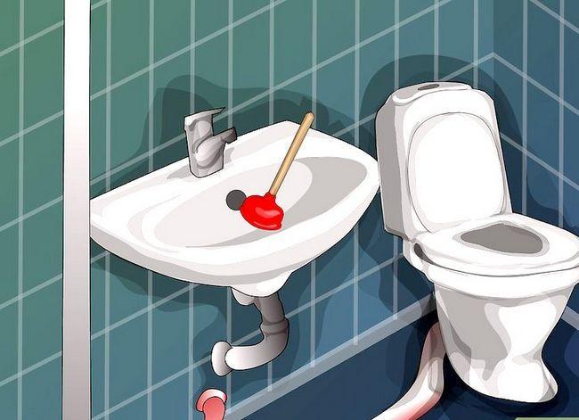 Prent getiteld Plumb a Bathroom Stap 9