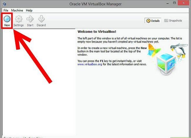 Prent getiteld Installeer Mac OS X op VirtualBox vir Windows 7 Stap 3