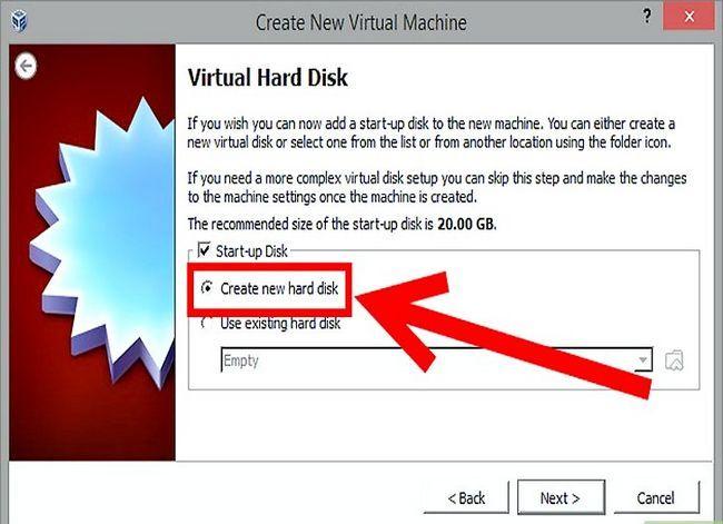 Prent getiteld Installeer Mac OS X op VirtualBox vir Windows 7 Stap 6