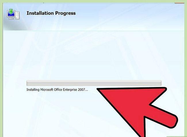 Prent getiteld installeer Microsoft Office 2007 Stap 5