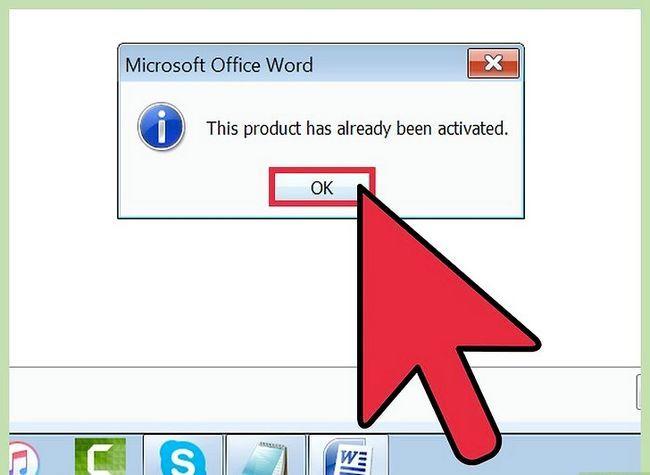 Prent getiteld installeer Microsoft Office 2007 Stap 9