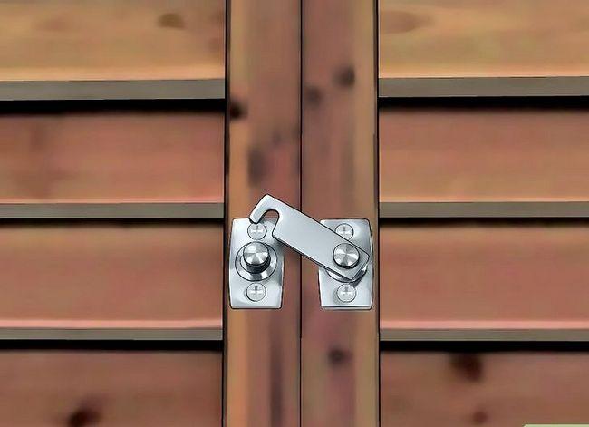 Prent getiteld Installeer buite-sluiter Stap 16