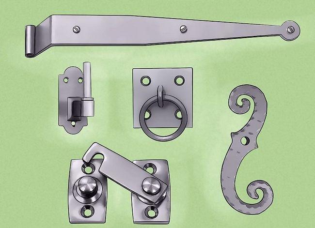 Prent getiteld Installeer buite-sluiter Stap 4