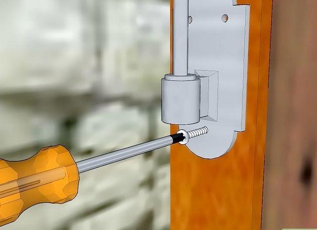 Prent getiteld Installeer buite-sluiter Stap 8