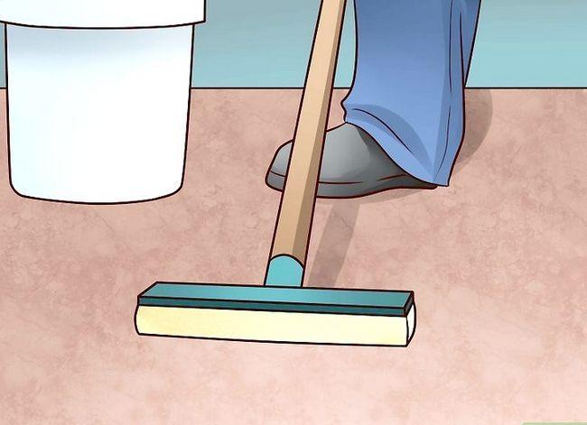 Prent getiteld Installering Vloer Stap 1