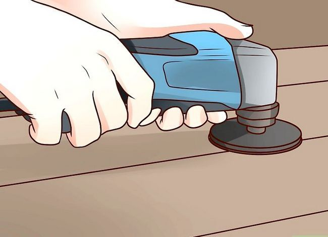 Prent getiteld Installasie Flooring Stap 15