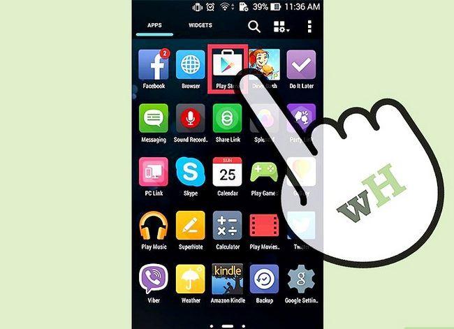 Prent getiteld Installeer `n lêerbestuurder op Android Stap 1