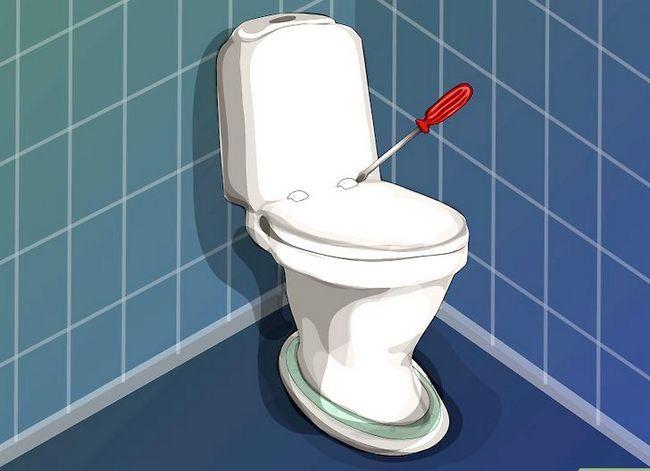 Prent getiteld `n nuwe toilet sitplek installeer Stap 2