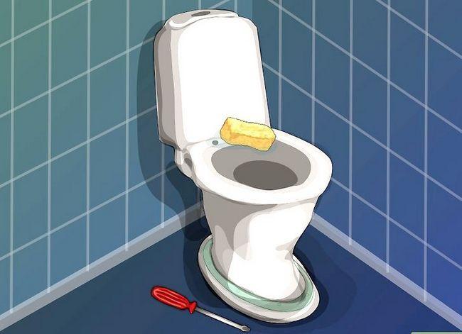 Prent getiteld `n nuwe toilet sitplek installeer Stap 5
