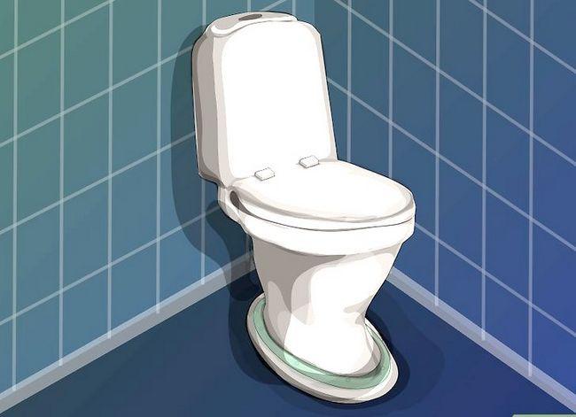 Prent getiteld `n nuwe toilet sitplek installeer Stap 8