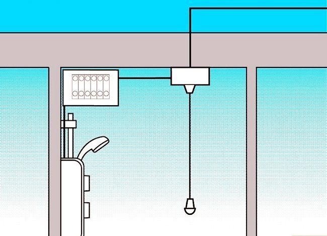 Prent getiteld Fiks `n elektriese stort Stap 2